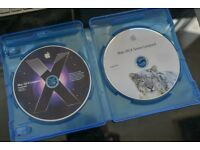 Mac OSX Leopard and Snow Leopard Install DVDs