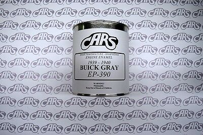 1939-1940 Buick | Gray Engine Paint | Quart Can | EP390 Buick Engine Paint