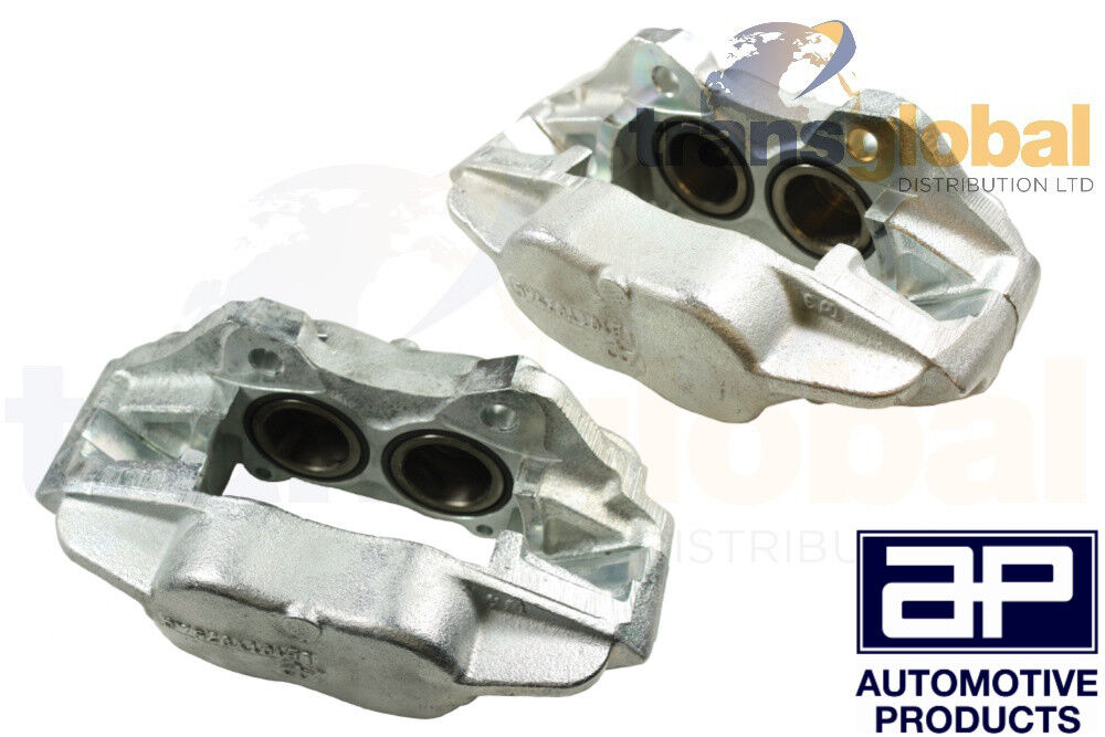 Land Rover Defender Front Brake Calipers Pair For Solid Discs