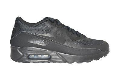Detalles de Hombre Nike Air Max 90 Ultra 2.0 Esencial 875695 002 Zapatillas Negras