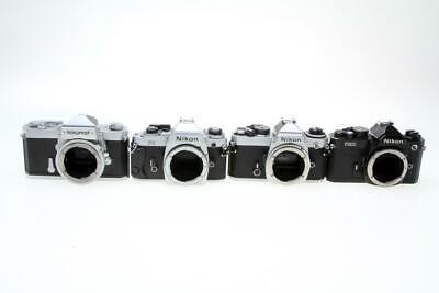 4 Nikon 35mm Camera Bodies As Is - $30.99