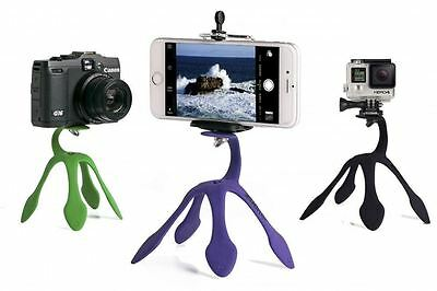 Mini Tripod Mount Gekkopod Stand Holder for iPhone Gopro xiaomi yi Sj4000 hero 5