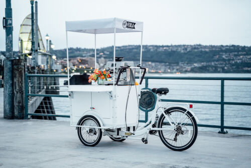 Coffee Bike for Sale | Mobile Coffee Cart for Sale- Mobile Coffee Shop