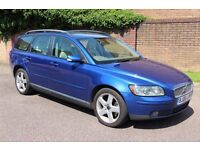 2006 Volvo V50 SE 2.0 Turbo Diesel Estate, Cream Leather, High Specification