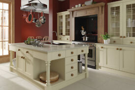 Solid Painted Shaker Kitchens Available (Multiple colours in stock)