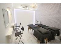 beauty salon, training school, therapy room, nail bar, fashion, unit, office, Glasgow