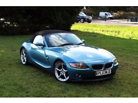 BMW Z4 ROADSTER 2.5i CONVERTIBLE 70K MILES! MINT CONDITION! FULL BMW HISTORY! Z3 M SPORT