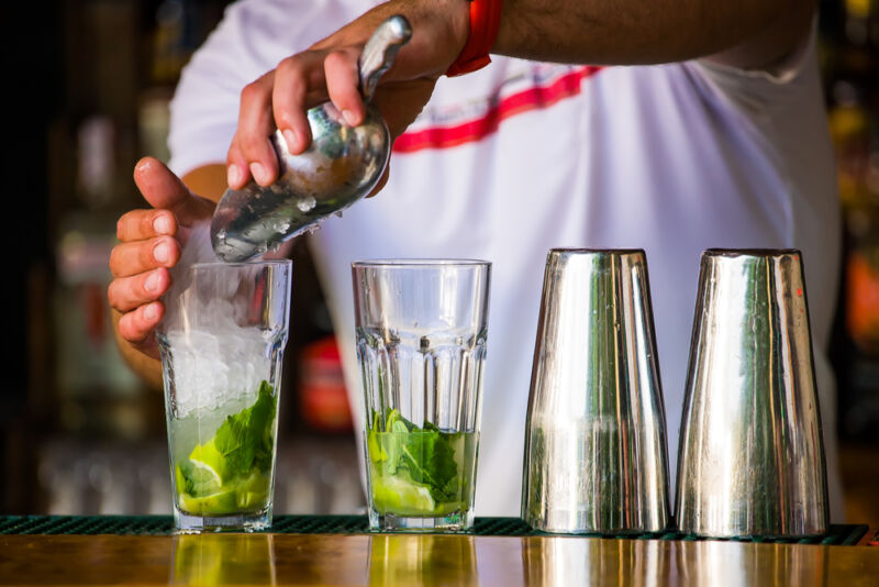 Ensure you have the right tools and ingredients for your home bar