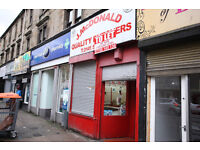 Shop retail store, ex butcher Duke St, next to Boots, only shop available in the street, glasgow
