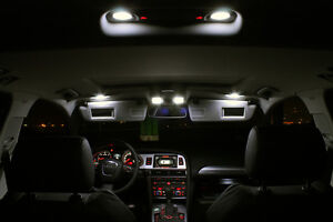 SMD LED Innenraumbeleuchtung Audi Q5 8R Facelift Set 22 LEDs Xenon weiß