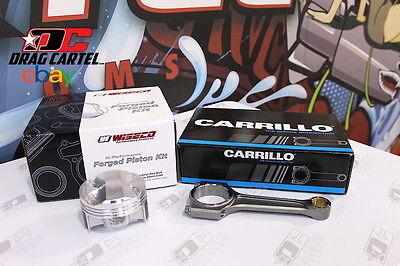 Wiseco All Motor Pistons 1261 875mm Bore  Carrillo Rods Honda Acura K24 K24A