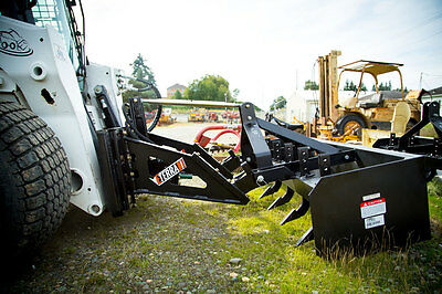 Skid Steer Loader To Tractor Attachment Adapter - Eterra 3-point Cat 2 - 80cc