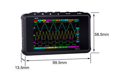 Digital Oscilloscope Ds213 Dso203 Nano Pocket-size Us Seller Free Shipping