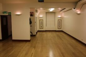 A fantastic studio space and treatment room now available for hire in South Kensington