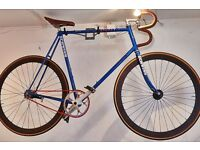 Single speed racing bicycle with coaster brakes for sale