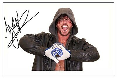AJ STYLES WWE WRESTLING SIGNED PHOTO PRINT AUTOGRAPH