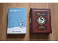 Blankets and Habibi by Craig Thompson, Graphic Novels for Sale