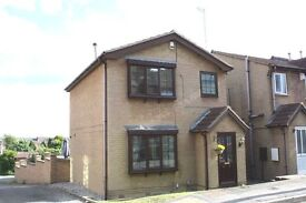 Detached 3 Bedroom house with large garden & double garage.