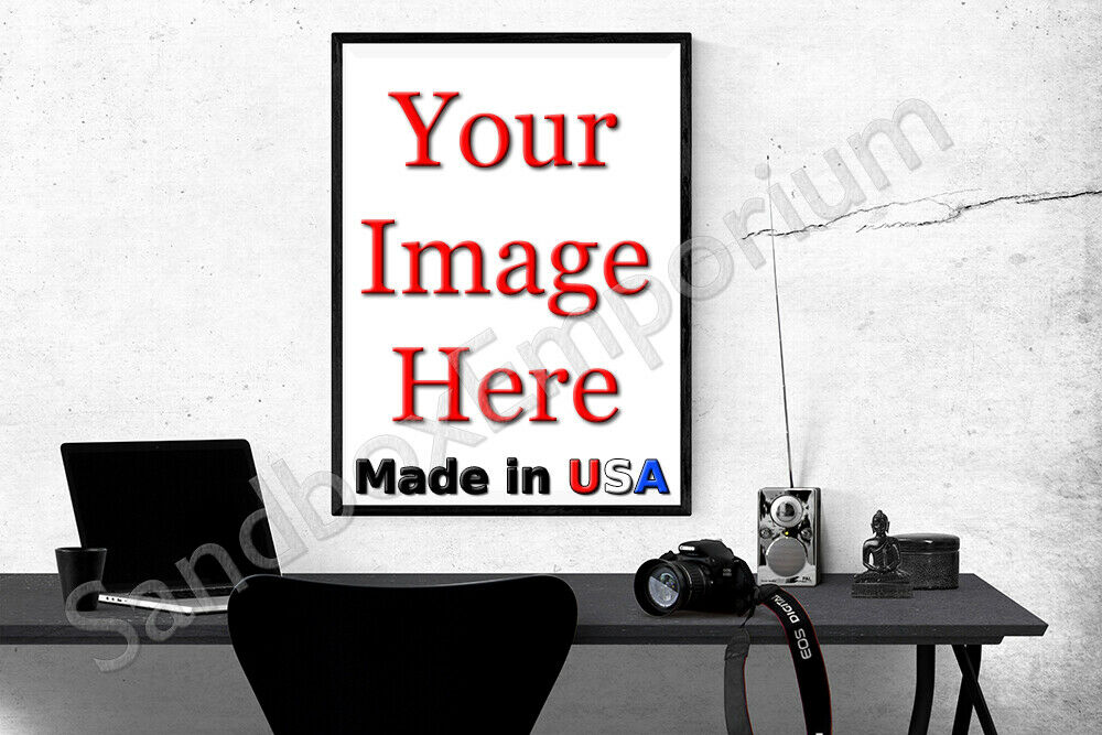 "24x36"" Custom Printed Satin MATTE Poster YOUR PHOTO POSTER I"