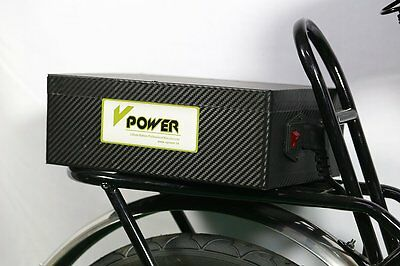 Lithium-ion Battery Pack 48V 20AH Electric Bike Rechargeable Batteries + Charger