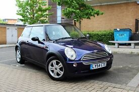 2004 MINI COOPER 1.6 LOW MILES! RARE PURPLE! CLEAN CAR LONG MOT NO FAULTS SERVICE HISTORY! AIR CON