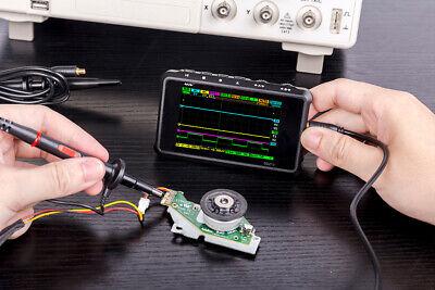 Ds213 Smart Lcd Digital Storage Oscilloscope 15mhz 100msas Max Sampling Rate