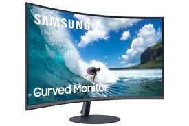 "Samsung T55 32"" Full HD Curved Monitor"