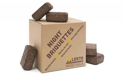 Night Briquettes   Up To 8 Hour Burn   Idea For Overnight   Compressed Wood 20KG