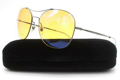 Gucci GG0501S Sunglasses Ruthenium Clear 008 Authentic 58mm