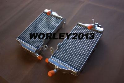 Aluminum radiator for Aprilia MXV450