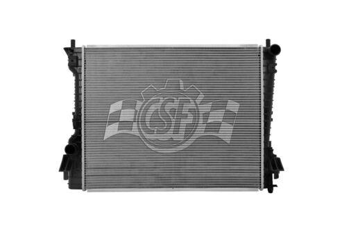 Radiator-1 Row Plastic Tank Aluminum Core CSF 3468 fits 11-14 Ford Mustang
