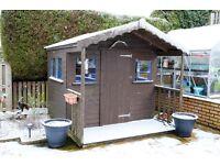Timber garden sunhouse for sale.