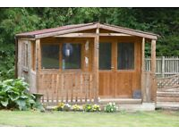 Kirton Summer House Shed 12' x 16' Cost £4,000 two years ago.