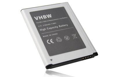 Handy Akku Batterie [2100mAh] fuer Samsung Galaxy S3 Neo GT-i9301