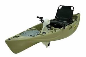 Kings Kraft Pedal Power Fishing Kayak Beige $1799 + Bonus Riverhills Brisbane South West Preview