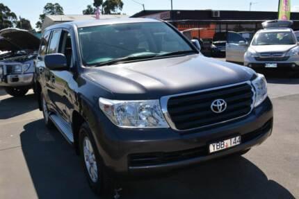 2008 Toyota LandCruiser GXL Petrol/LPG Wagon Warragul Baw Baw Area Preview