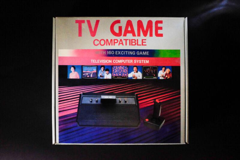 atari tv game television computer system