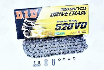 DID 520 x 114 Links VO Series Oring Sealed Natural Drive Chain