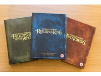 ALL 3 - Lord of the Rings Special Edition Box Sets - bargain just £10 the lot