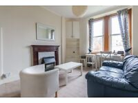 Very large, bright, 1 bedroom furnished property with box room in Morningside – available NOW
