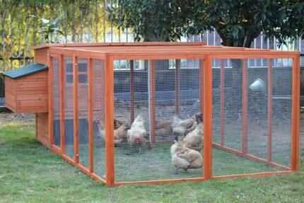 Giant 2.8M Chicken Coop with Nesting Box and Run