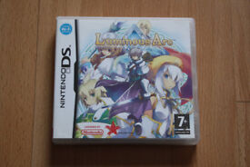 Luminous Arc Nintendo DS Strategy Game - Rare & Collectible, Very Good Condition with manual