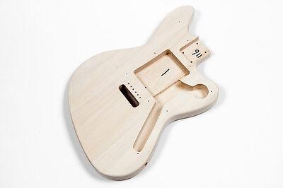 Cuerpo guitarra eléctrica Jaguar tilo - Basswood JA Jaguar electric guitar body