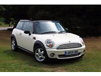 2009 MINI COOPER 1.6 WHITE ONLY 38K MILES 1 LADY OWNER FULL HISTORY! EXCELLENT EXAMPLE!