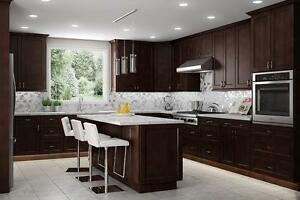 CANADA 150 SALE! SOLID WOOD KITCHEN CABINETS AT UNBEATABLE PRICE! DON'T PAY ANYTHING FOR 1 YEAR INTEREST FREE!