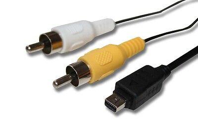 AV cable para Olympus CB-USB5 CB-USB6