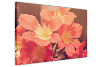 Japanese Lilies on Framed Canvas Art Prints Floral Wall Pictures Home Decoration
