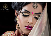 Professional Bridal Makeup Artist - So Sona - available for all occasions