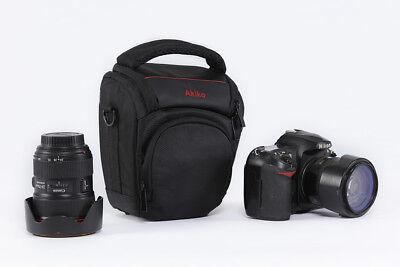 Wasserdicht DSLR Kamera Schultertasche für Canon EOS 40D 50D 60D 60Da 6D 7D (Wasserdicht Canon 60d)