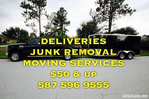 Junk Removal - Delivery - Moving - $50 & up